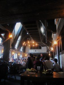 Having lunch in The Three Broomsticks was one of my own highlights. Surprisingly great fish and chips, too.