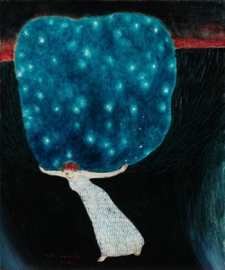 Night's Impossible Burdern - Brian Kershisnik